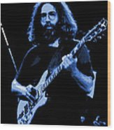 Blue J G In Cheney 10-27-78 Wood Print