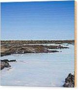 Blue Lagoon - 2 Wood Print
