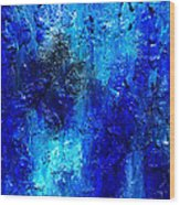 Blue Lagoon 13 Wood Print
