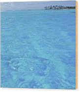 Blue Lagoon. Wood Print