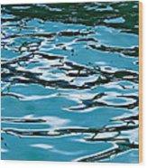 Blue Laguna Wood Print