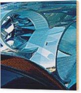 Blue Light Wood Print by Wendy J St Christopher