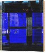 Blue Man Group Wood Print