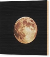 Blue Moon 2 Wood Print