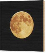 Blue Moon 4 Wood Print