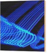 Blue Ocean In Peril Wood Print