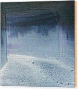Blue Passage Wood Print