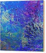 Blue Planet Wood Print