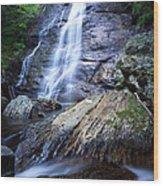 Blue Ridge Falls Wood Print