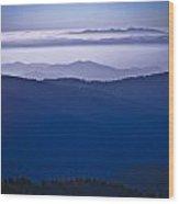 Blue Ridge Heaven Wood Print