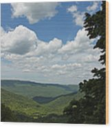 Blue Ridge Mountain Scenic - Craig County Va IIi Wood Print