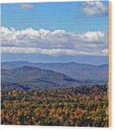 Blue Ridge Mountains 2 Wood Print