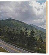 Blue Ridge Mountains And Blue Ridge Parkway Wood Print