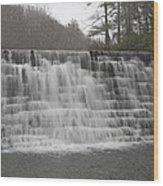 Blue Ridge Parkway Meandering Waters  Wood Print