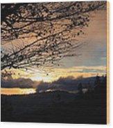 Blue Ridge Parkway Sunrise Wood Print