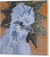 Blue Silky Nugget Wood Print