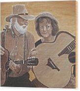 Bluegrass Music Wood Print