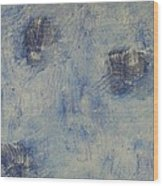 Blueish Wood Print