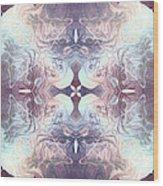 Bluelight Cross Wood Print