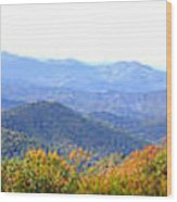 Blueridge Parkway Mm404 Wood Print