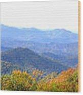 Blueridge Parkway Mm404 Wood Print