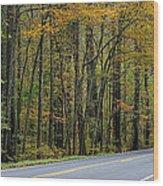 Blueridge Parkway Virginia Wood Print