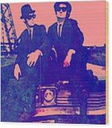 Blues Brothers 2 Wood Print