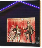 Blues Brothers Tribute Wood Print