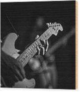 Blues Chord Wood Print