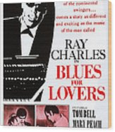 Blues For Lovers, Aka Ballad In Blue Wood Print