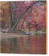 Bluestone River Wood Print