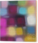 Blur II Wood Print