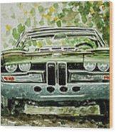 Bmw Bertone Spicup Wood Print