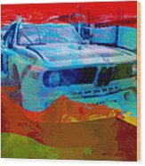 Bmw Laguna Seca Wood Print