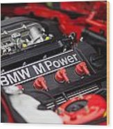 Bmw M Power Wood Print