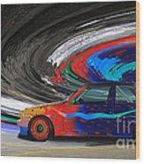 Bmw M3 Art Car Wood Print