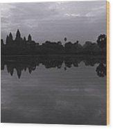 Bnw Cambodia Siem Reap 02 Wood Print