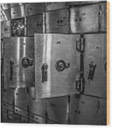 Chicago Board Of Trade Deposit Boxes Wood Print