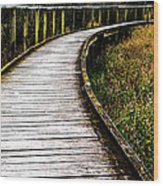 Boardwalk 03 Wood Print