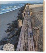 Boardwalk - Charleston Sc Wood Print