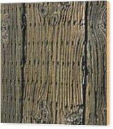Boardwalk On The Dock Wood Print