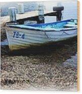Boat 78-4 Wood Print