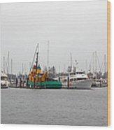 Boat Life Wood Print