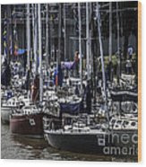 Boat Week 2 Wood Print