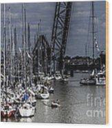 Boat Week 3 Wood Print