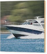 Boating 02 Wood Print