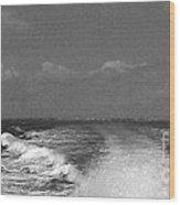 Boating 2 Wood Print