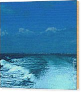 Boating Wood Print