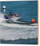Boatnik Races 1 Wood Print