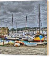 Sail Boats Wood Print